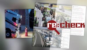 Водители грузовиков в Италии не перекрывали дороги